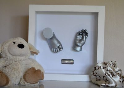 Divine_by_Design_Creations_baby_3d_casting_framed_silver